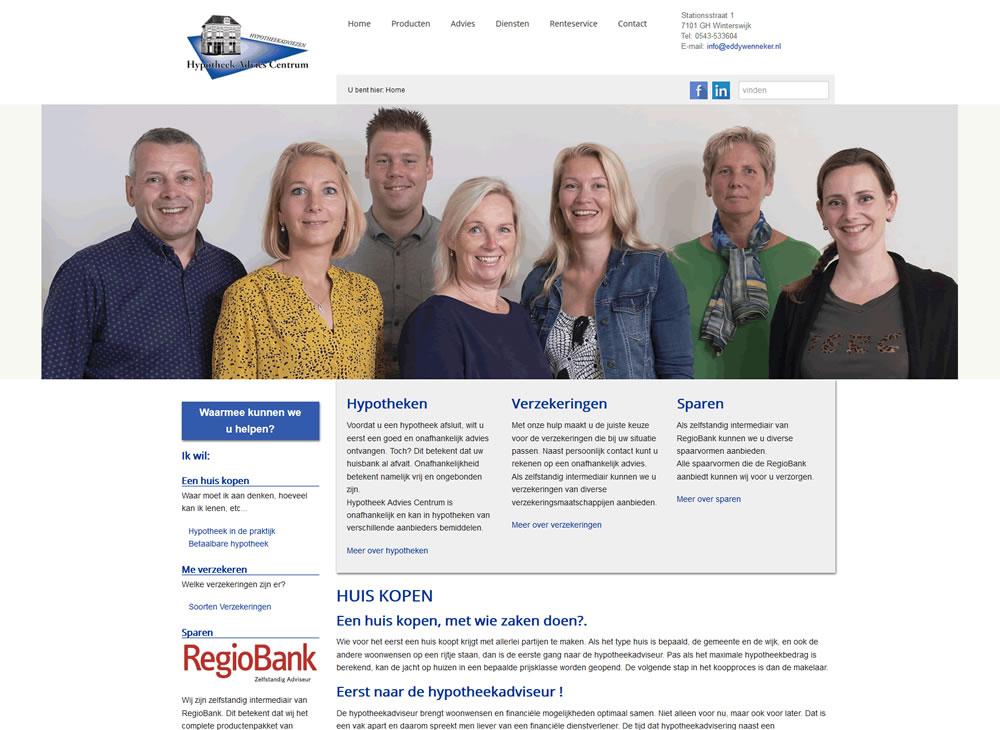 Wordpress theme - Hypotheek Advies Centrum